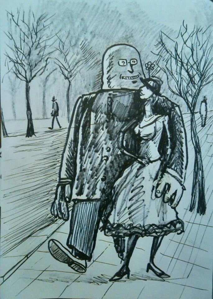 Il signor Scrofus finalmente esce con la baronessa Tavernesi del ramo degli Aravaldo